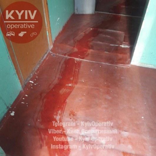 Ожесточенное убийство вКиеве: женщине перерезали горло